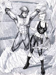 Wally West Flash and Killer Frost