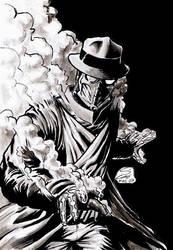 Sandman - Justice Society by craigcermak