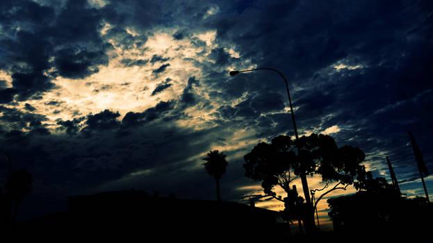 Silhouette Sunset..
