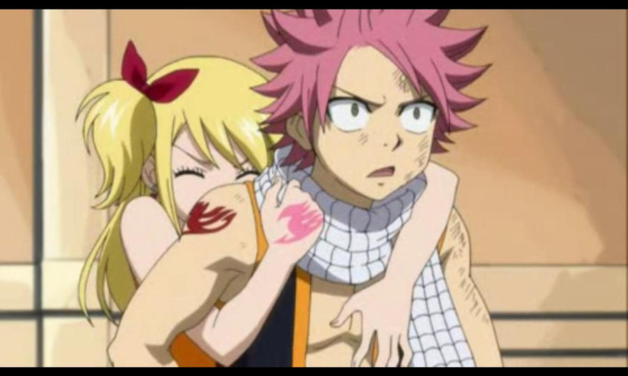 Natsu and Lucy hugging by mayann1994 on DeviantArt
