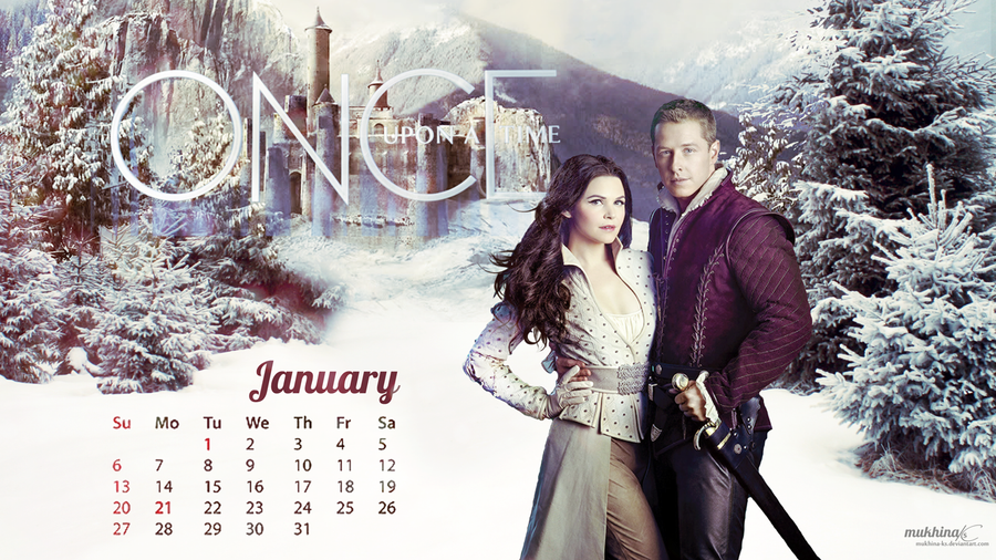 Calendar Art Ks : Ouat o calendar january by mukhina ks on deviantart