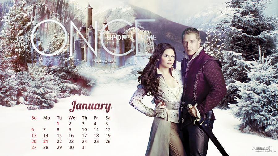 Calendar Art Ks : Ouat o calendar january by mukhina ks on deviantart