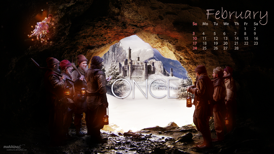 Calendar Art Ks : Ouat o calendar february by mukhina ks on deviantart