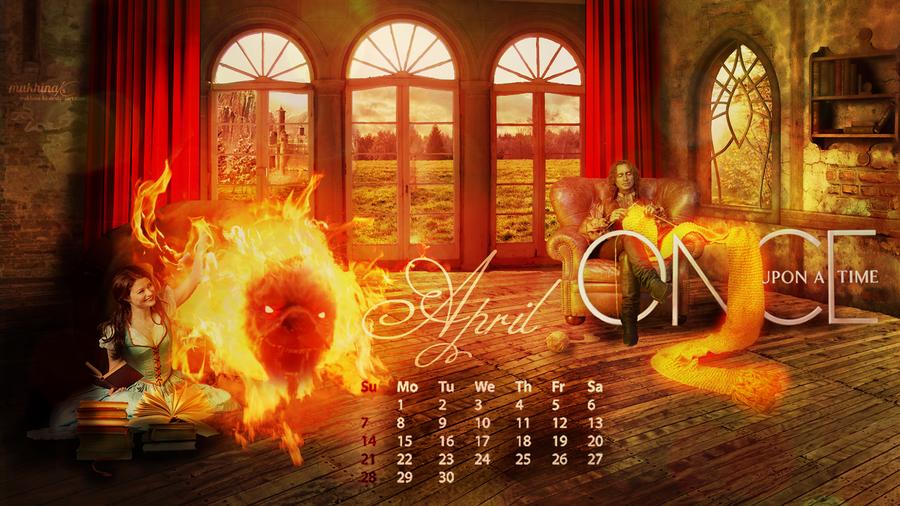 Calendar Art Ks : Ouat o calendar april by mukhina ks on deviantart
