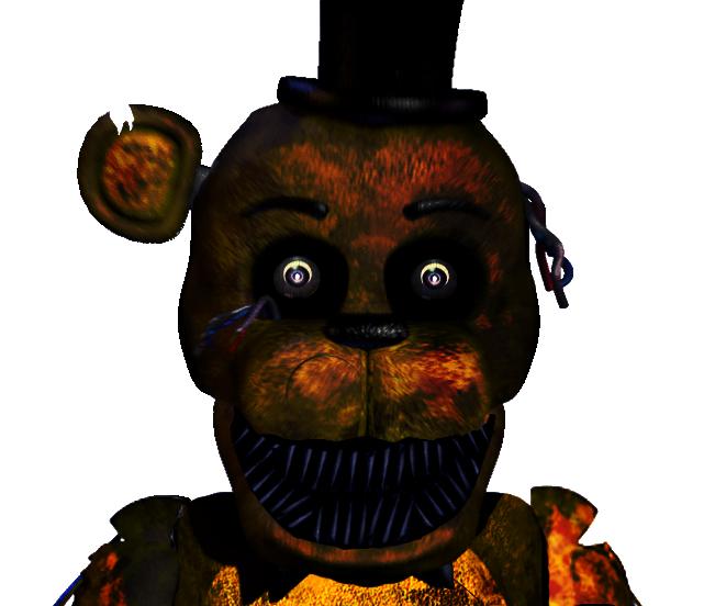 Demon Freddy Toys : Datgoldenbear fredbear deviantart