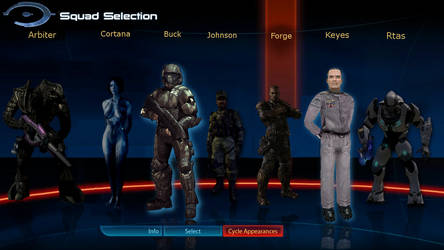 Halo Squad Selection by CelticKnight01