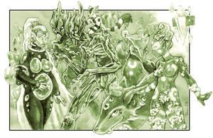 Gods + Elementals: Seasons by PaleLonginus