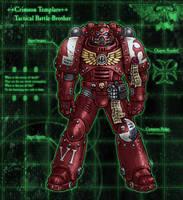 Crimson Templars: Tactical by PaleLonginus