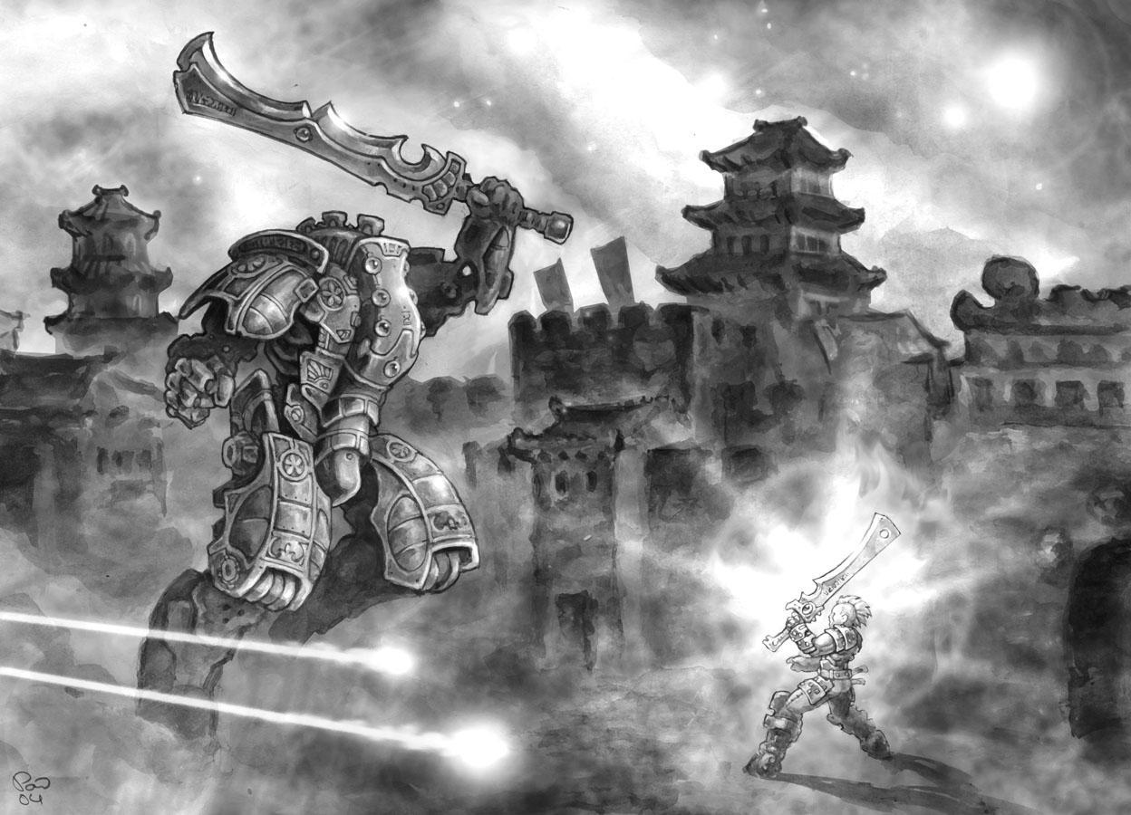 Warstrider Smash by PaleLonginus