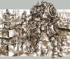 BoS vol.1, Warstrider Repaired by PaleLonginus