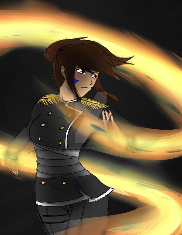 Fire Bender by toriegarcia89