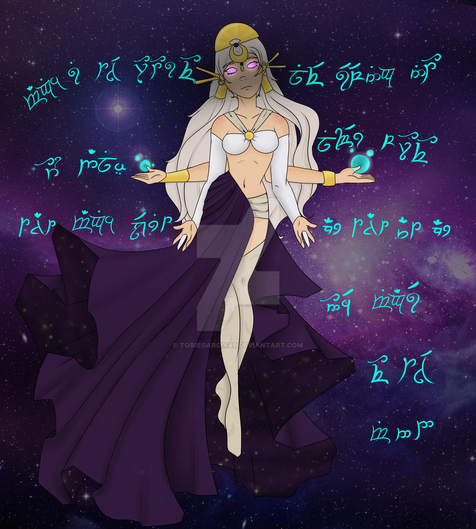 The Goddess' Message by toriegarcia89