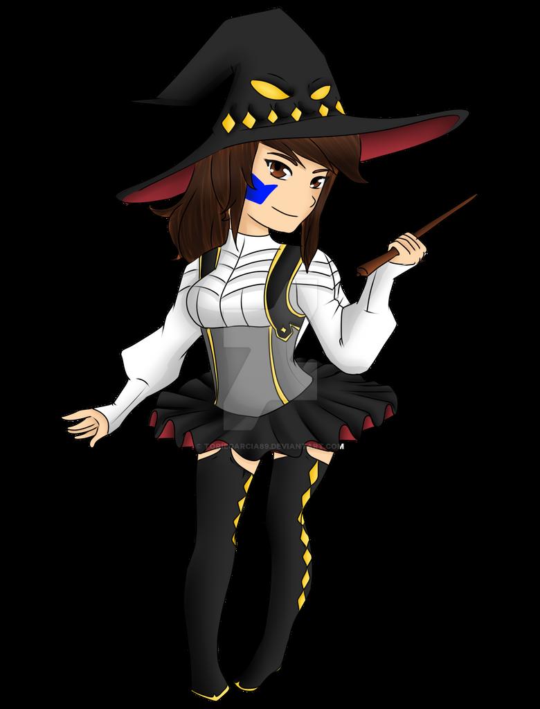 Witchcraft Shortie (OC) by toriegarcia89