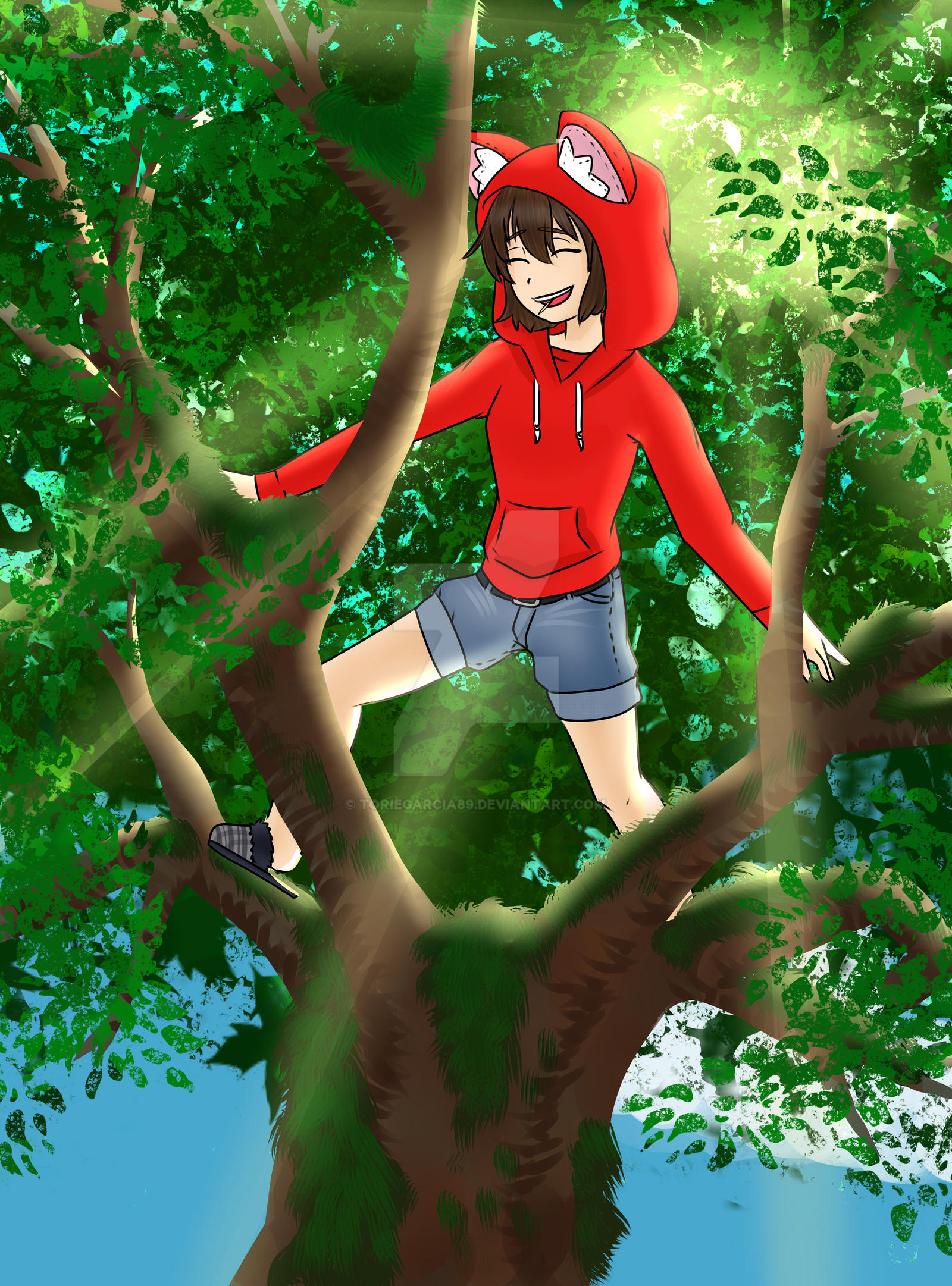 Tree Climber [Commission] by toriegarcia89