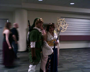 Link and Yuna Cosplay by LordBurn