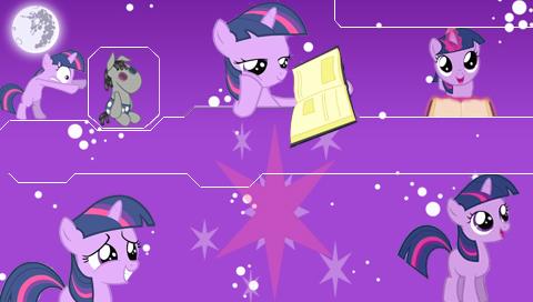 MLP Filly Twilight Sparkle PSP Wallpaper By Hidan475