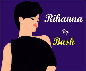 Rihanna 5 by BASH-DASH