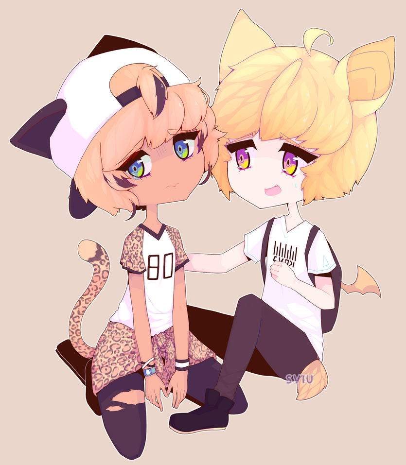 :AT: Kyohei and Tooru by sviu