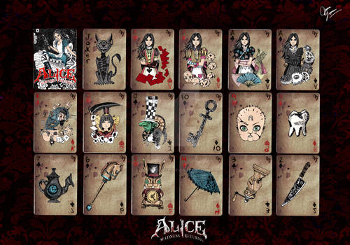 Alice madness returns-poker