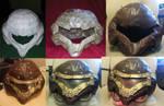 Steampunk Samus Helmet