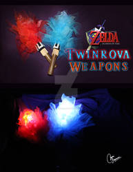 legend of zelda twinrova weapon