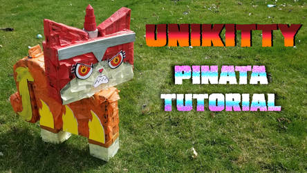 unikitty pinata tutorial
