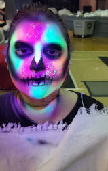 Uv facepaint-halloweekends