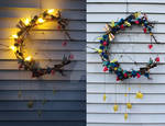 Coraline Wreath by mizueyes777