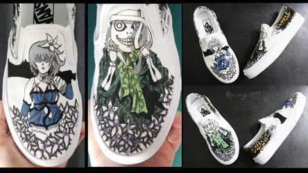 Nier custom shoes