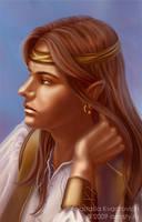 Baldur's Gate Avatar: Elf by AnasteziA