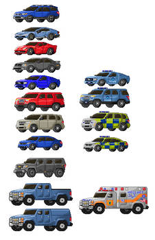 Sprited Vehicles 10-9-17