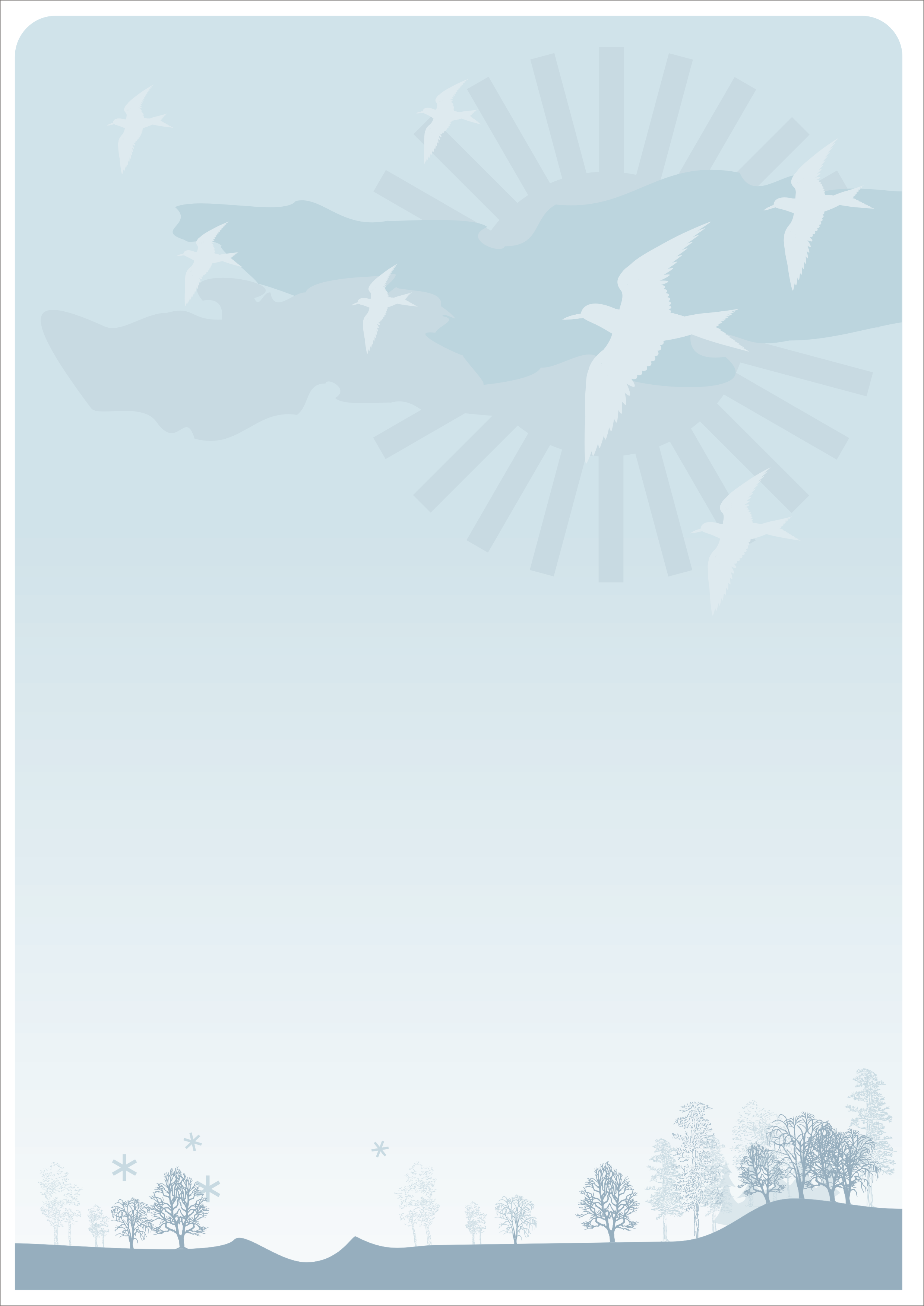 Letter Background Birds by leboef on DeviantArt