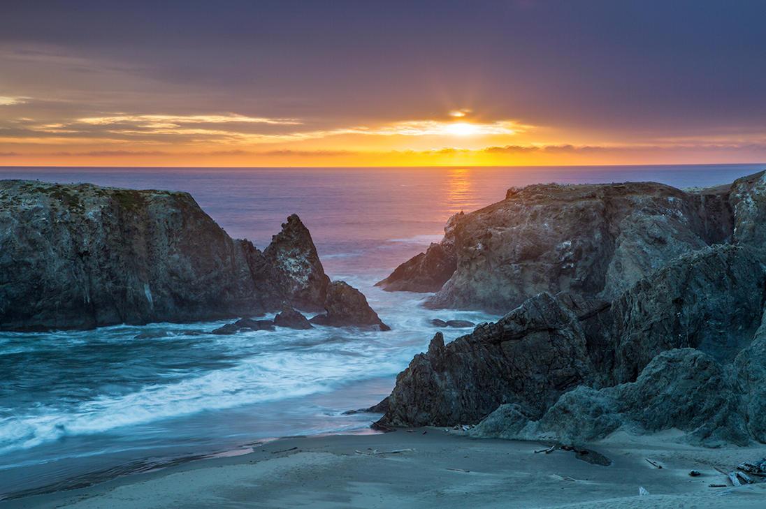 Bandon Oregon Sunset by ImpressionofLight