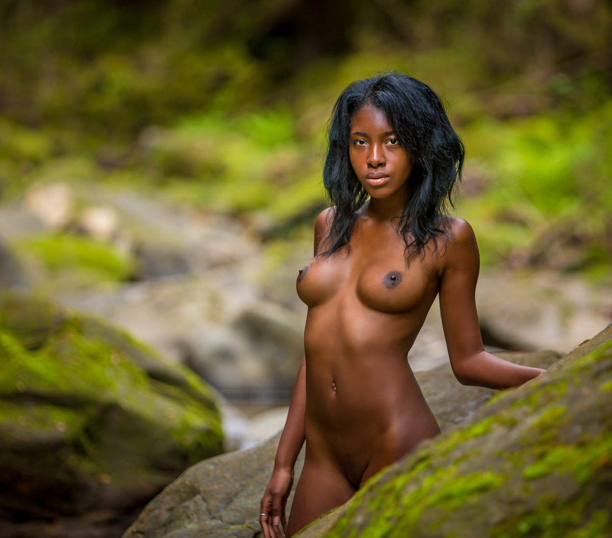 Black girl nude — photo 11
