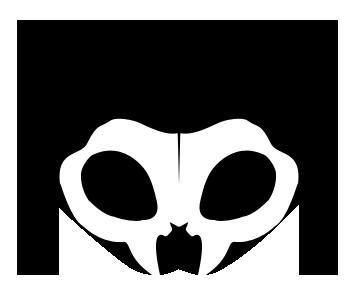 Skull Kitten v1 by darklyluminous