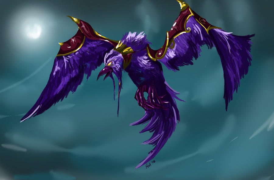 Epic Druid Flight Form by Sugarsop on DeviantArt