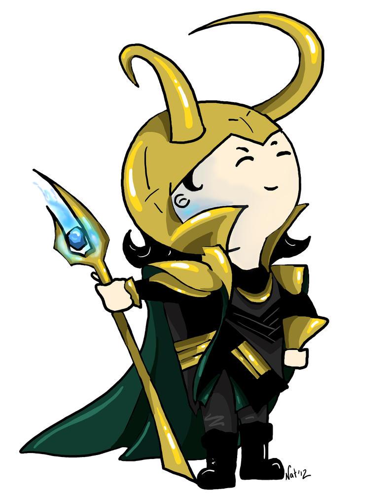 Chibi Loki by Sugarsop on DeviantArt