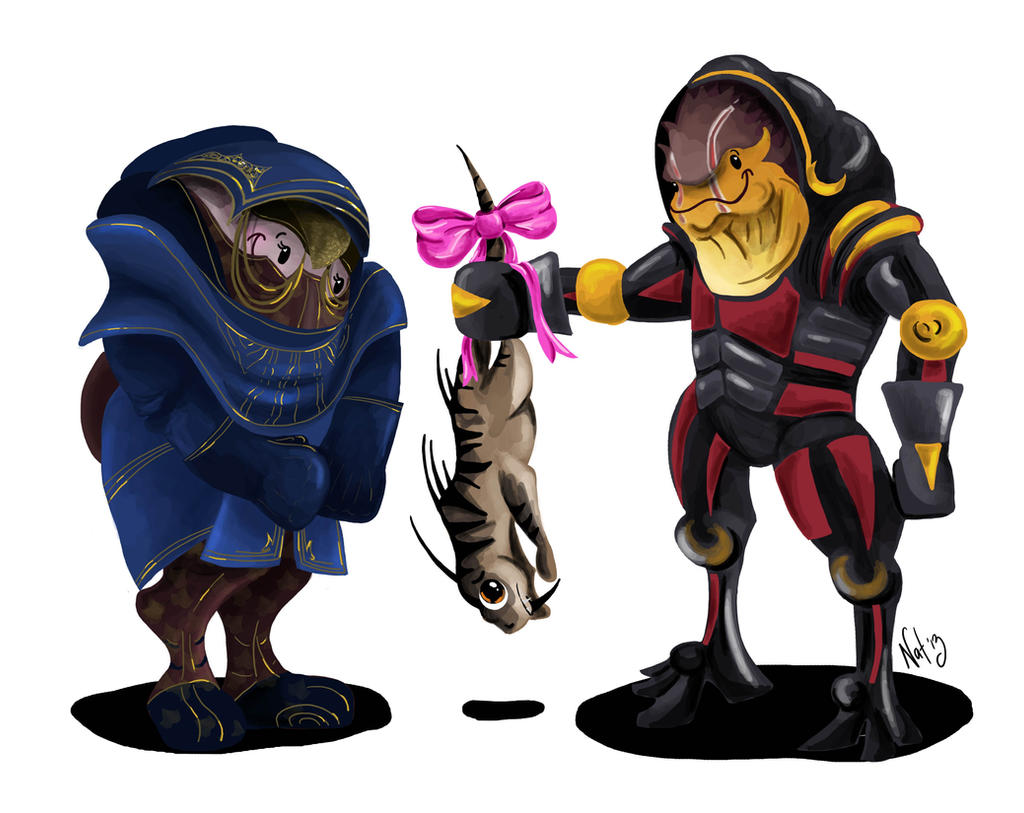 Krogan Love by Sugarsop