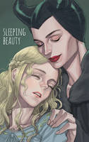 Sleeping beauty by cosom