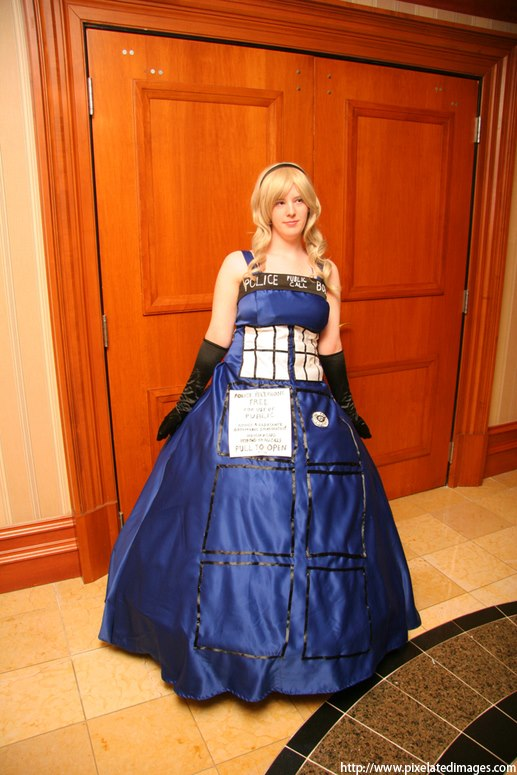 The Doctor's TARDIS by MissMina2