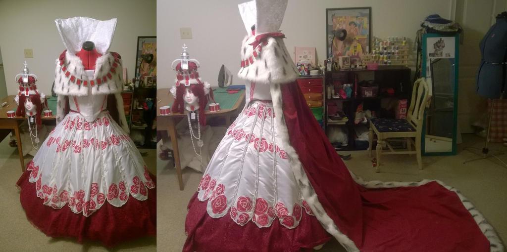 Queen Esther WIP by MissMina2