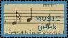 Geek Stamp Series - Music by Ducksauce-splash