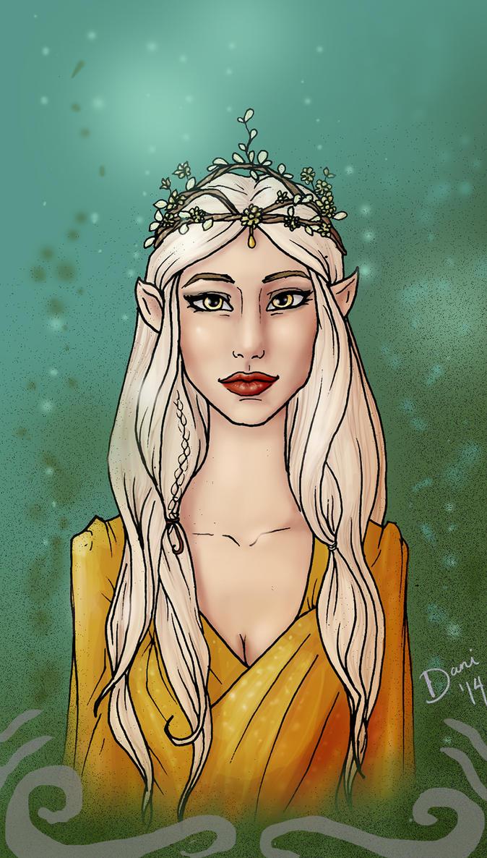 Elven Queen by Sekhmet-Heart