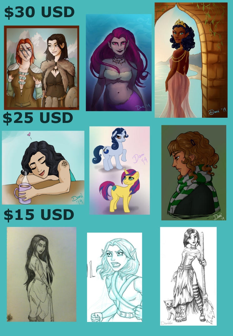 Commissions! by Sekhmet-Heart