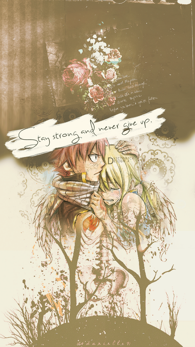 Natsu and Lucy Wallpaper Xperia Z2 by victoricaDES