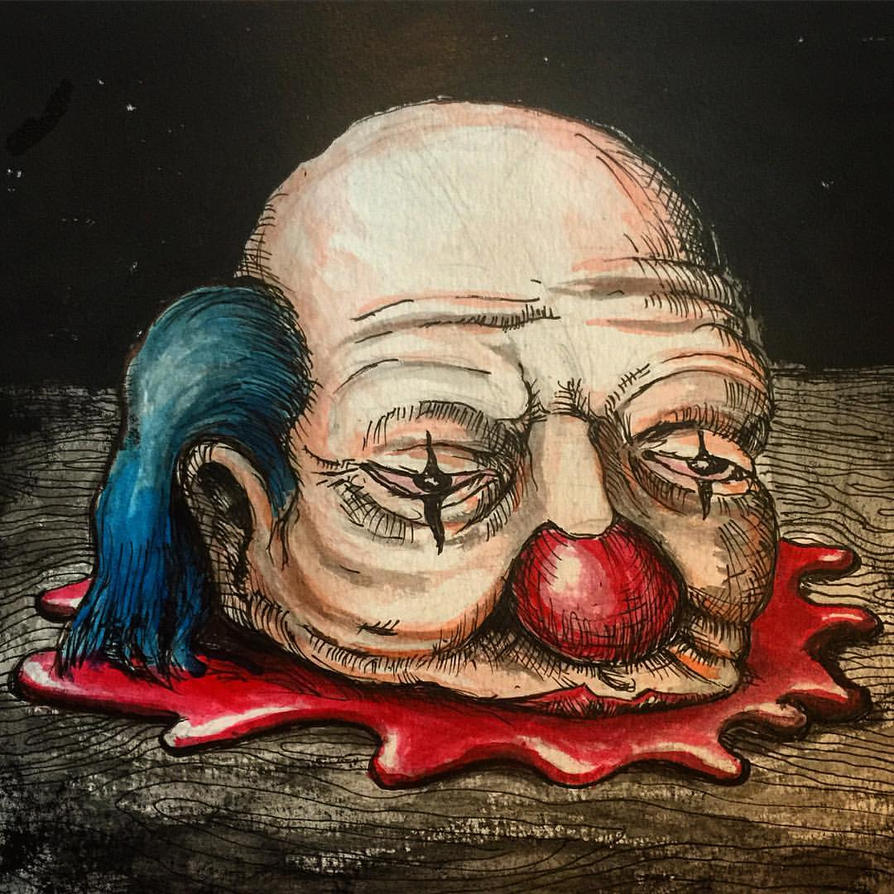 Decapitated clown1 by Dr-Benway