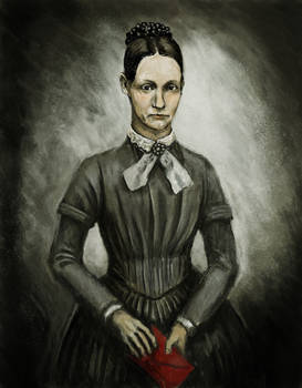 Unknown 1800s woman
