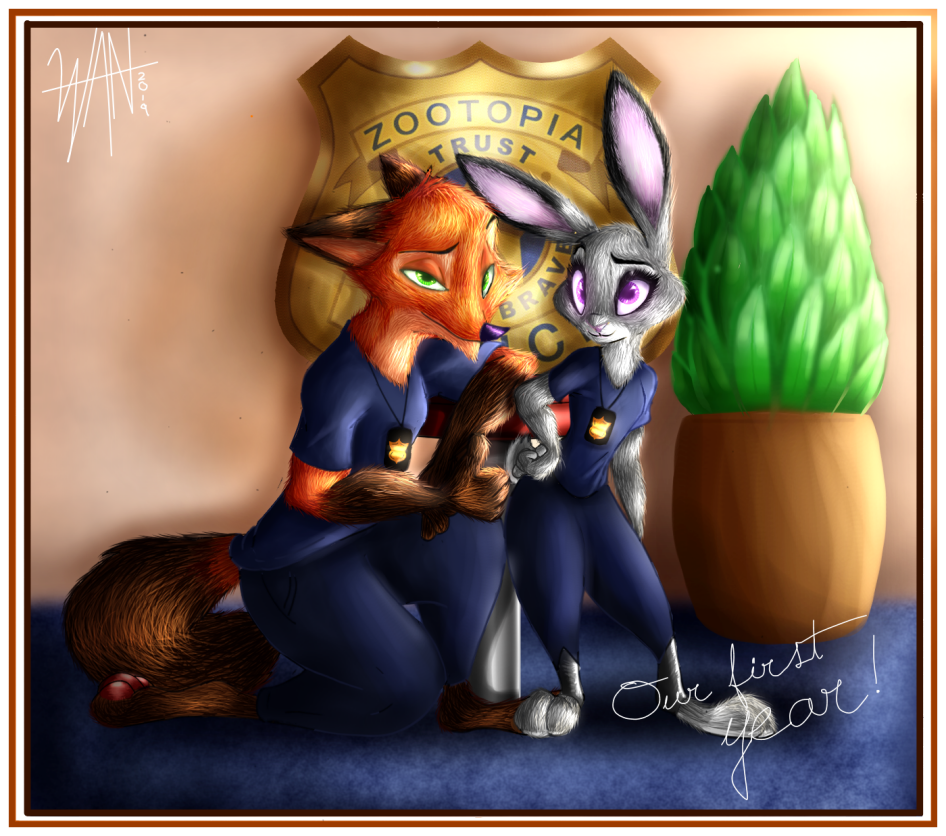 The First Year by Wanderox
