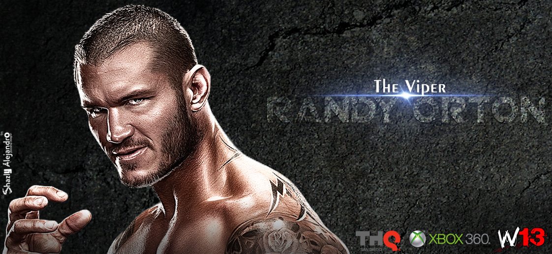 The Viper Randy Orton By Shazly250