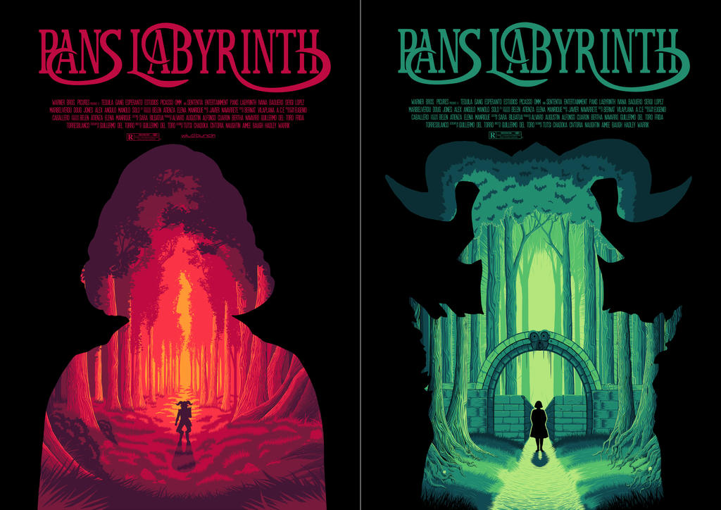 Final Pan's Labyrinth posters by yuri123454321